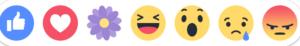 """La nouvelle icône """"réaction"""" Facebook en forme de fleur : Grateful ! 2"""