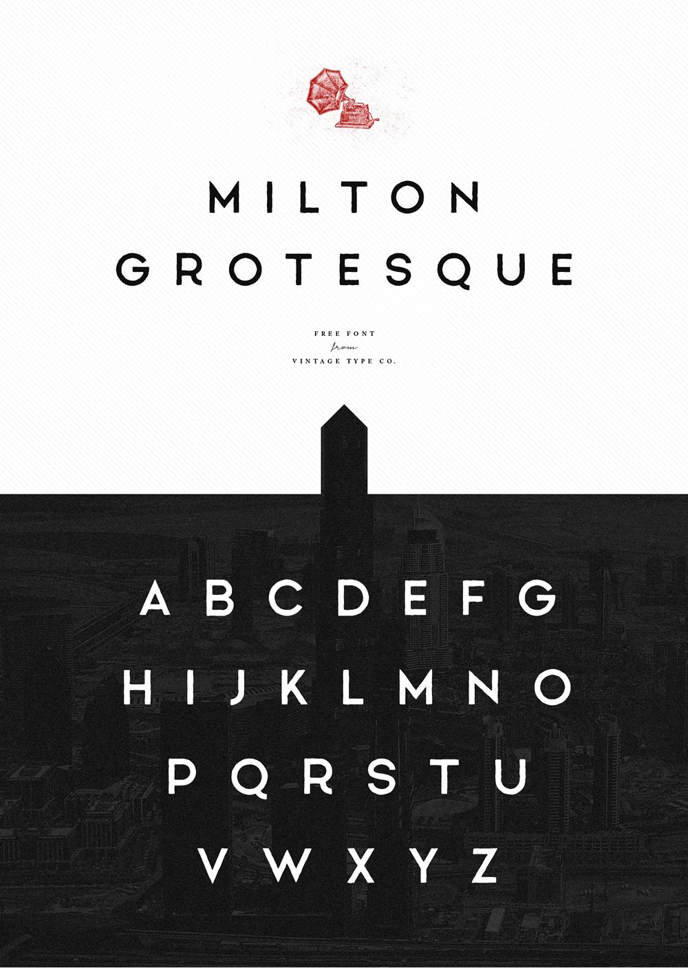 10 typographies gratuites à télécharger pour vos titres ou vos logos 10