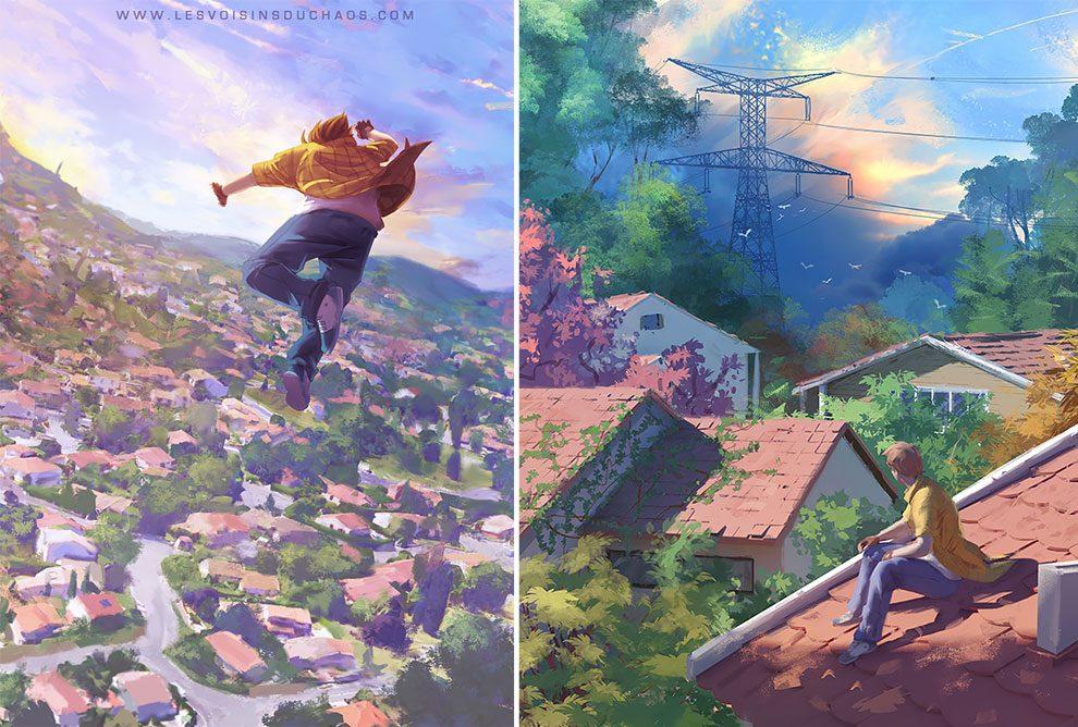Coup de coeur FR ! : Les illustrations de Sylvain Sarrailh vont vous transporter loin... 47