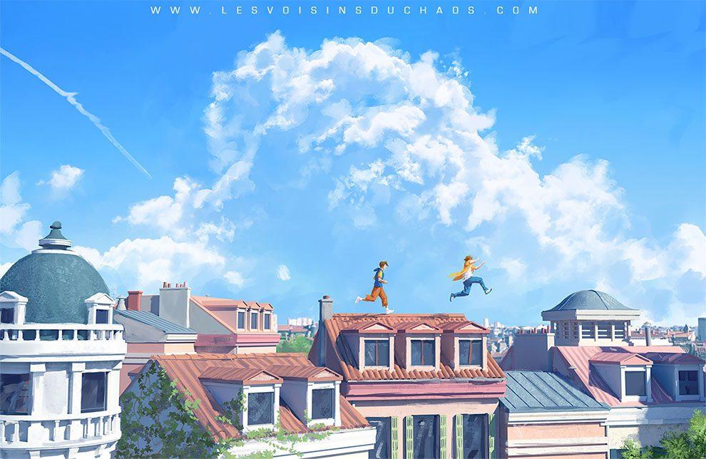 Coup de coeur FR ! : Les illustrations de Sylvain Sarrailh vont vous transporter loin... 57