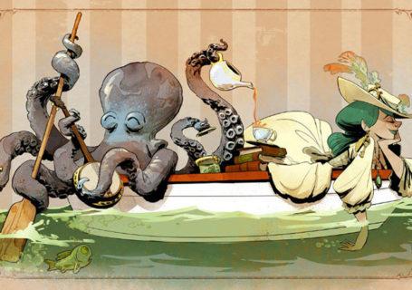 L'illustrateur de chez Disney imagine un monde avec une pieuvre trop mignonne 5