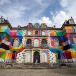 StreetArt - Une peinture géante sur le Château de La Valette de Pressigny-les-Pins