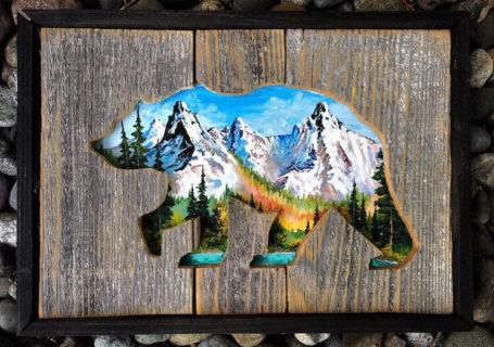 woodensense, des tableaux 3D en bois et en peinture 4