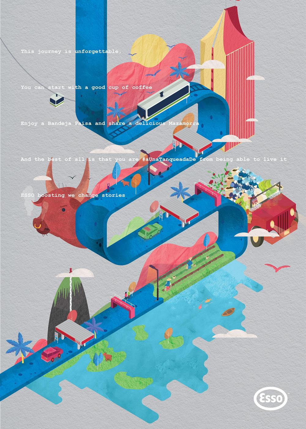 Inspiration - 100 Publicités créatives d'Aout 2017 21