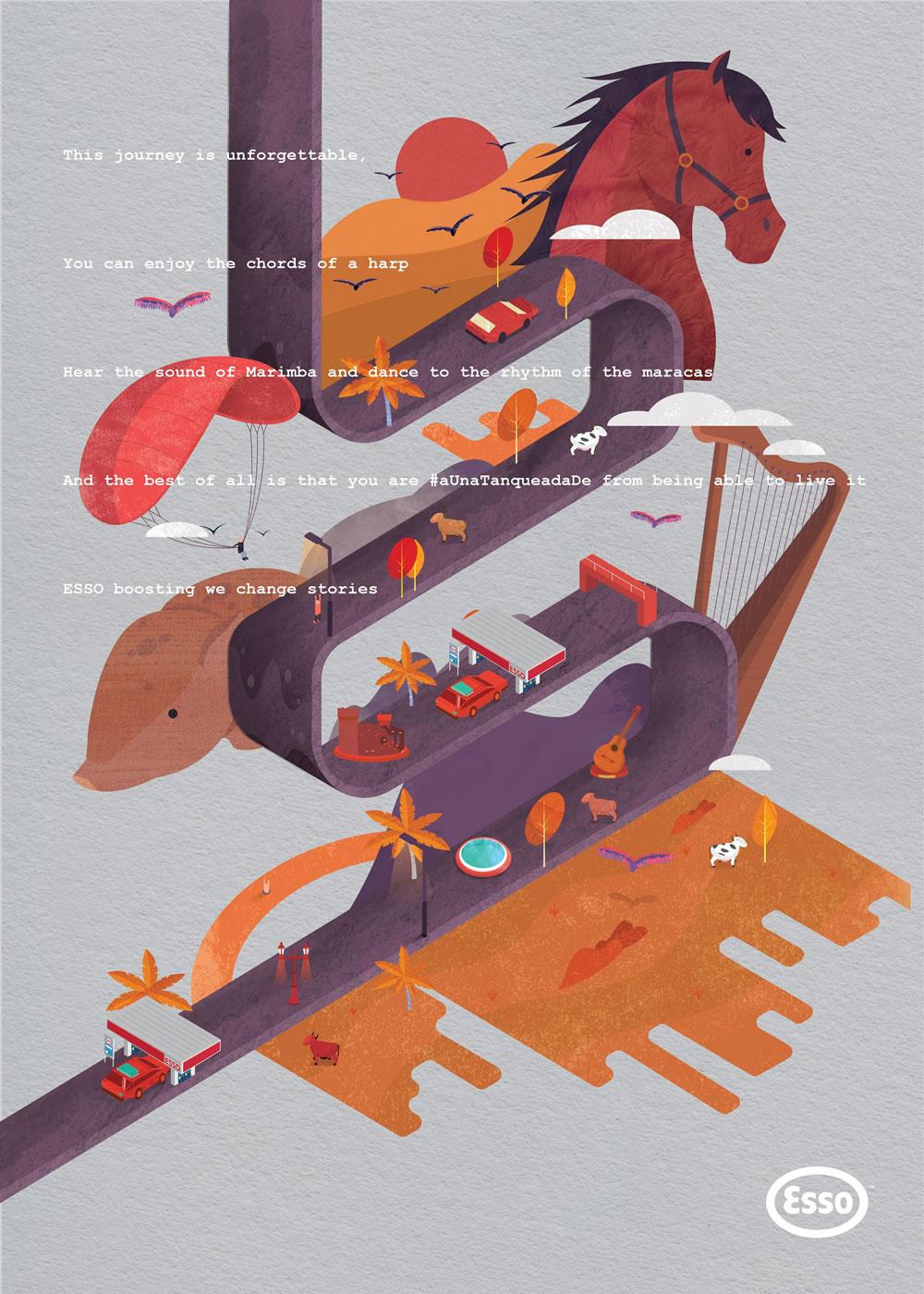 Inspiration - 100 Publicités créatives d'Aout 2017 22