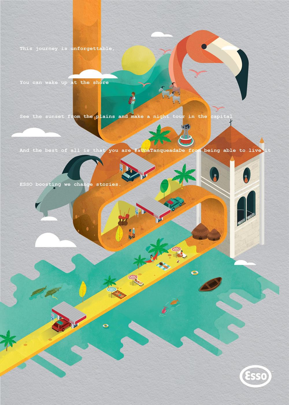 Inspiration - 100 Publicités créatives d'Aout 2017 23
