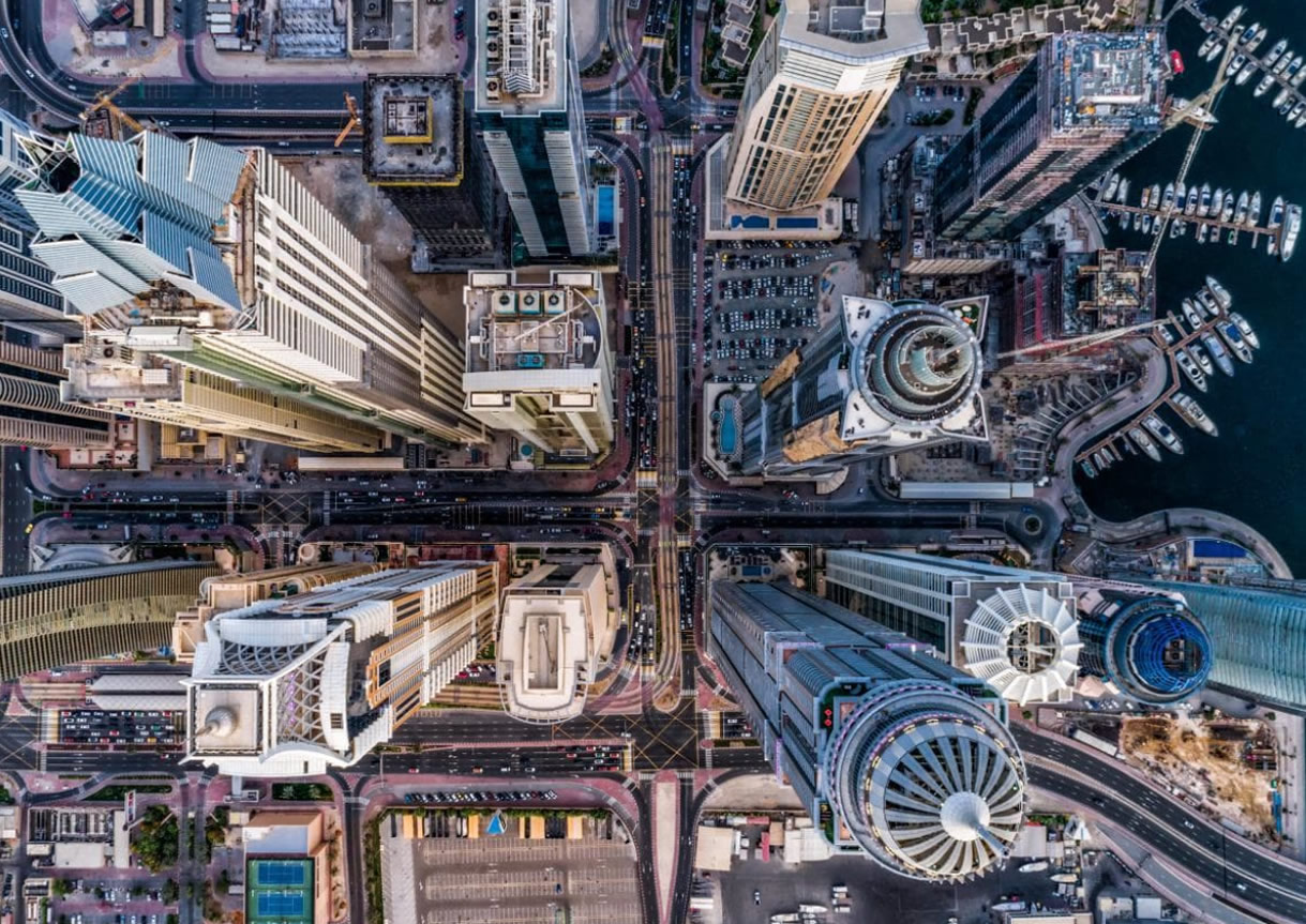 1er Prix Urban- Jungle en beton - Dubai - de bachirm