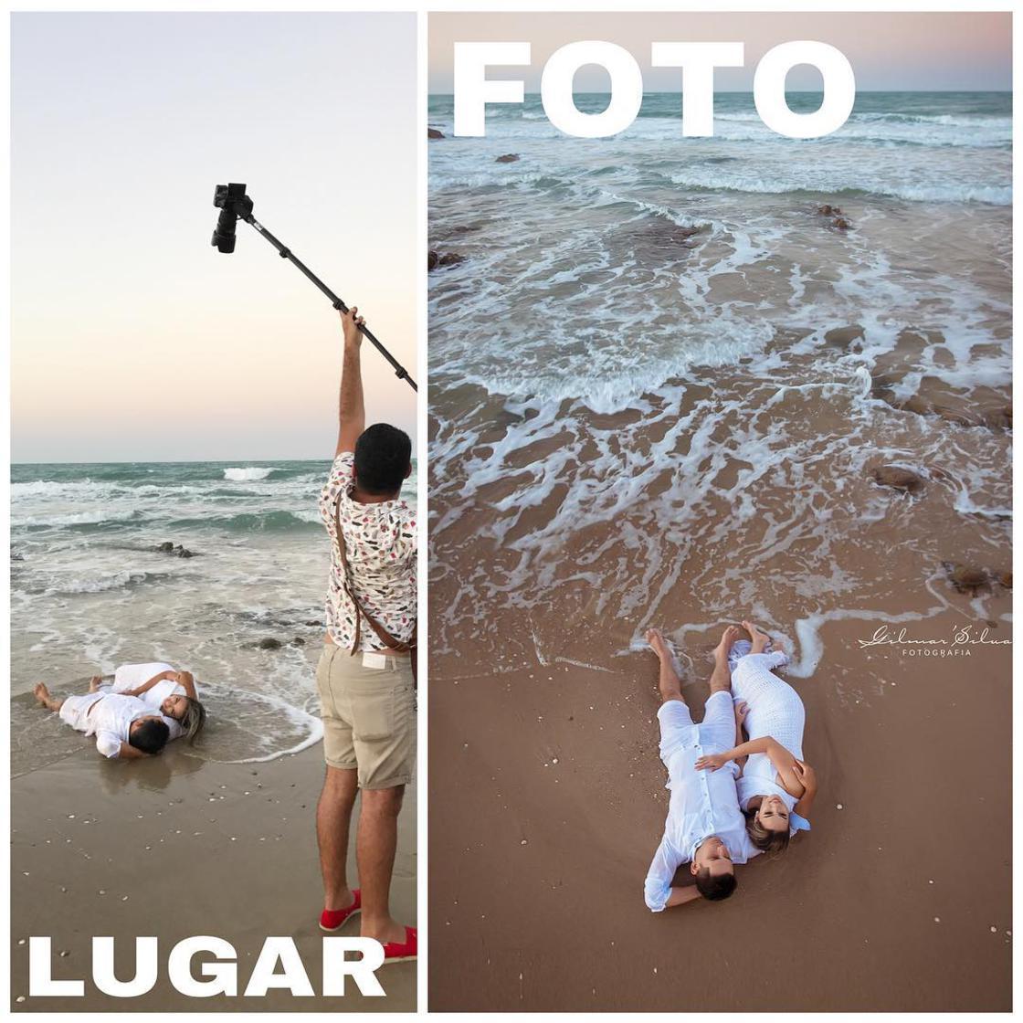Découvrez les coulisses de photos de grossesses d'un photographe. 2