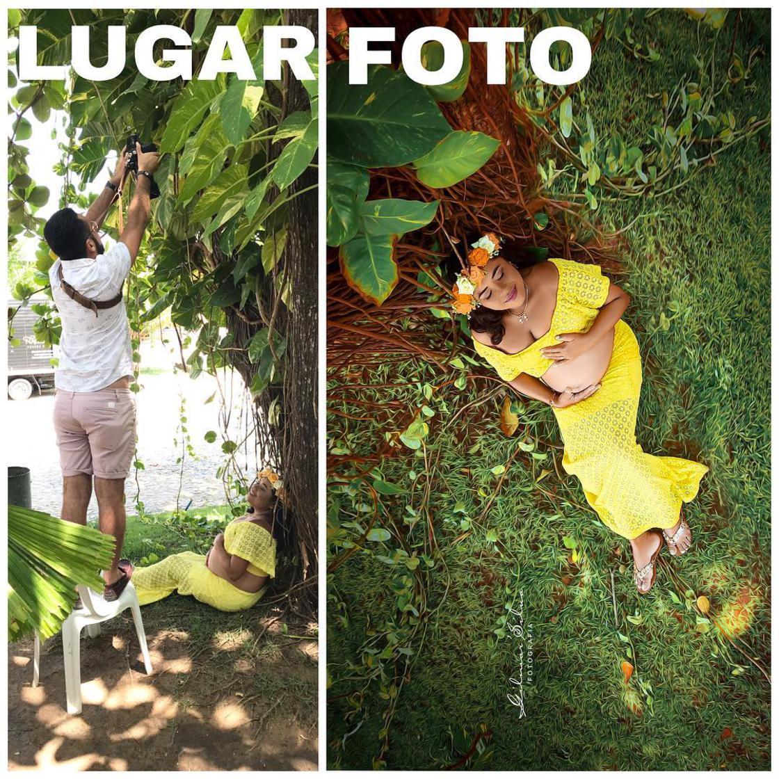 Découvrez les coulisses de photos de grossesses d'un photographe. 11