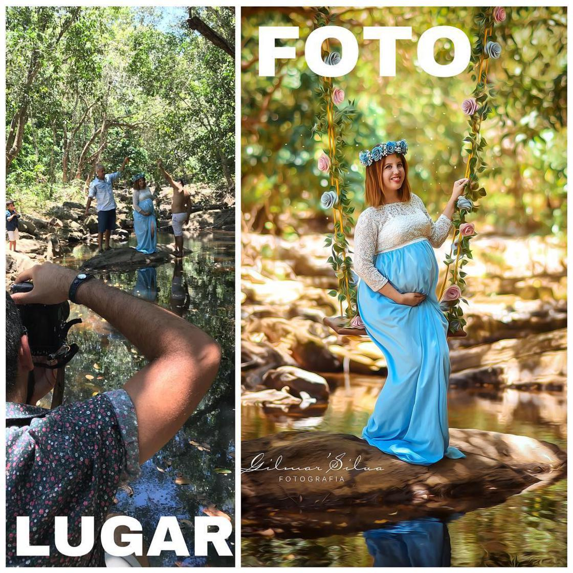 Découvrez les coulisses de photos de grossesses d'un photographe. 7