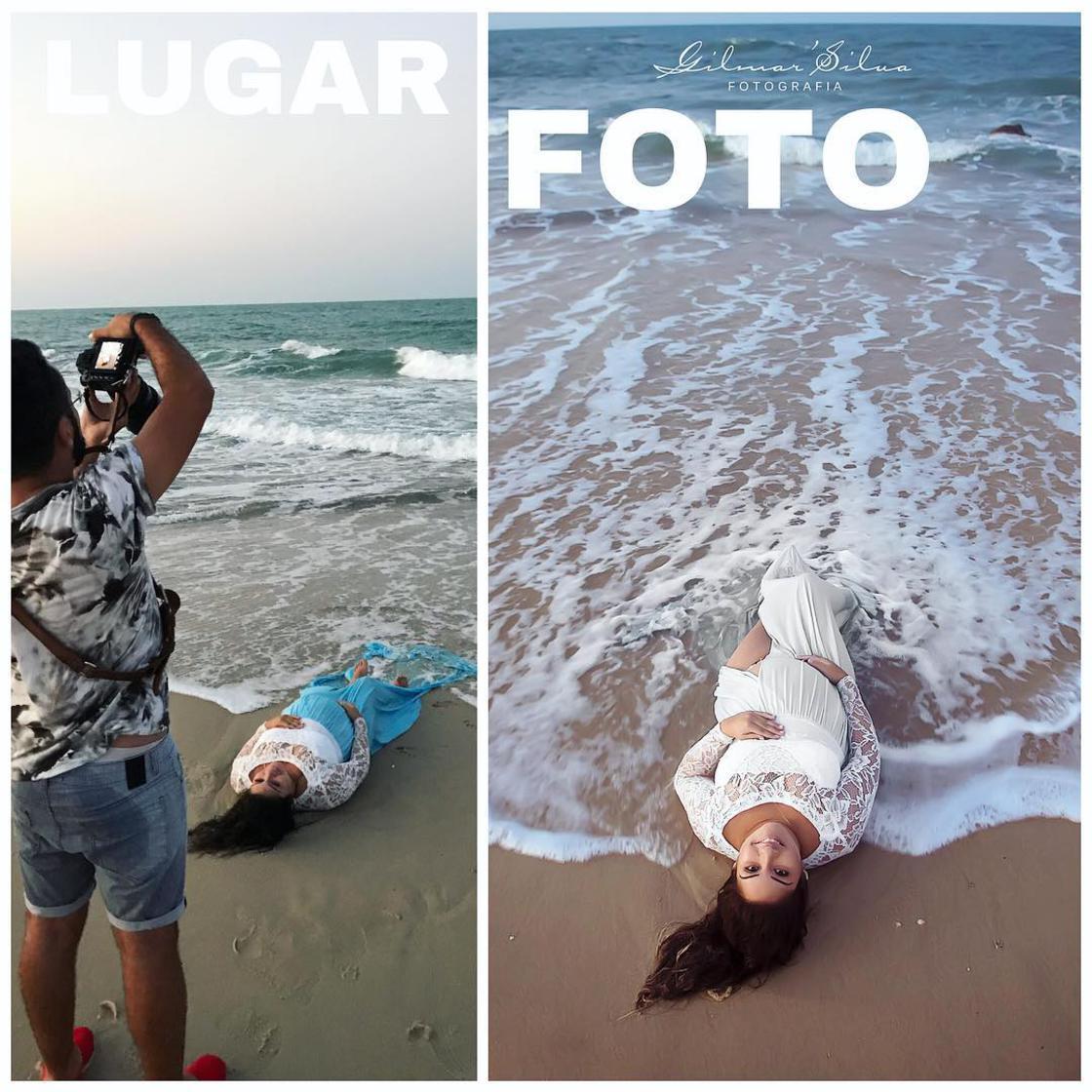 Découvrez les coulisses de photos de grossesses d'un photographe. 8