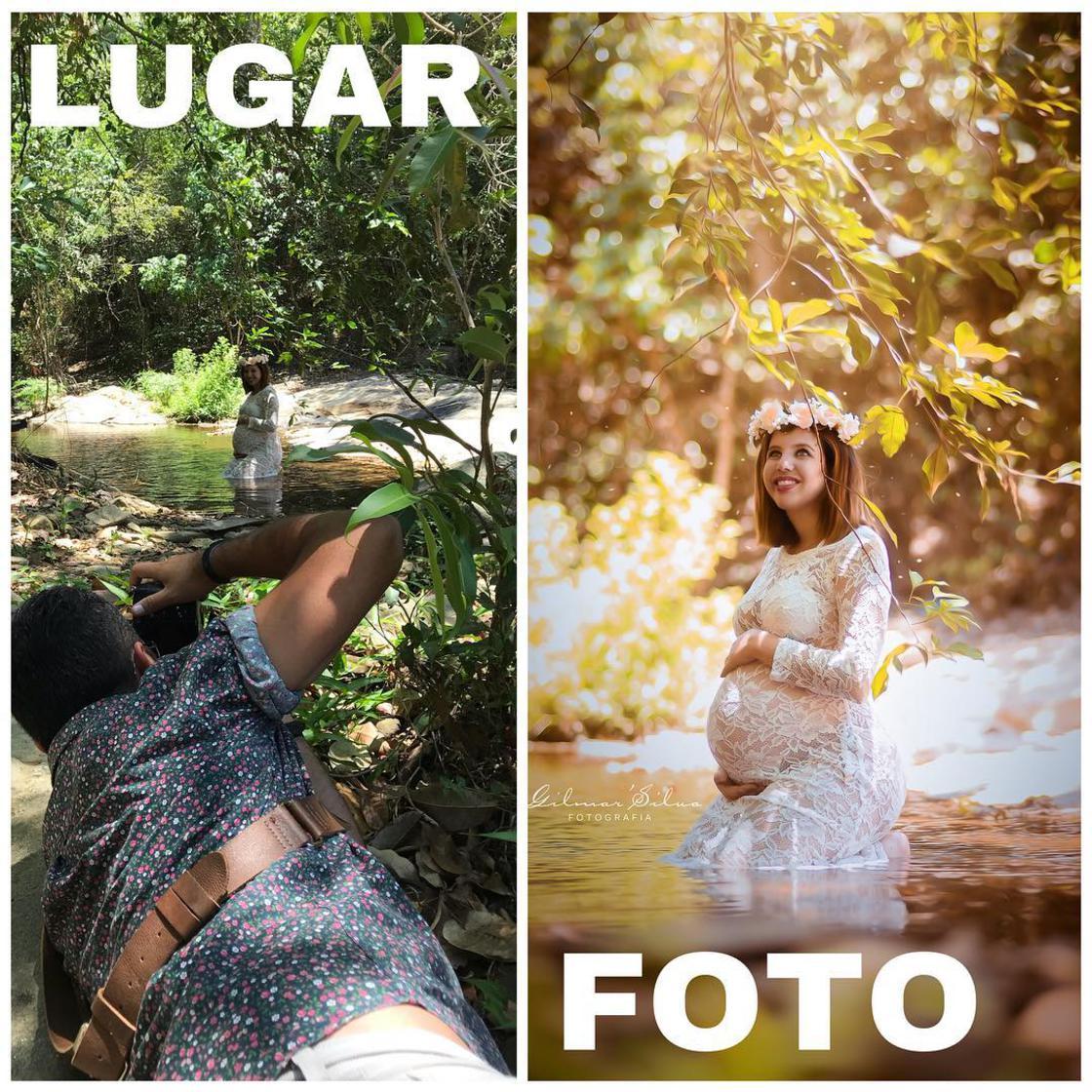 Découvrez les coulisses de photos de grossesses d'un photographe. 9