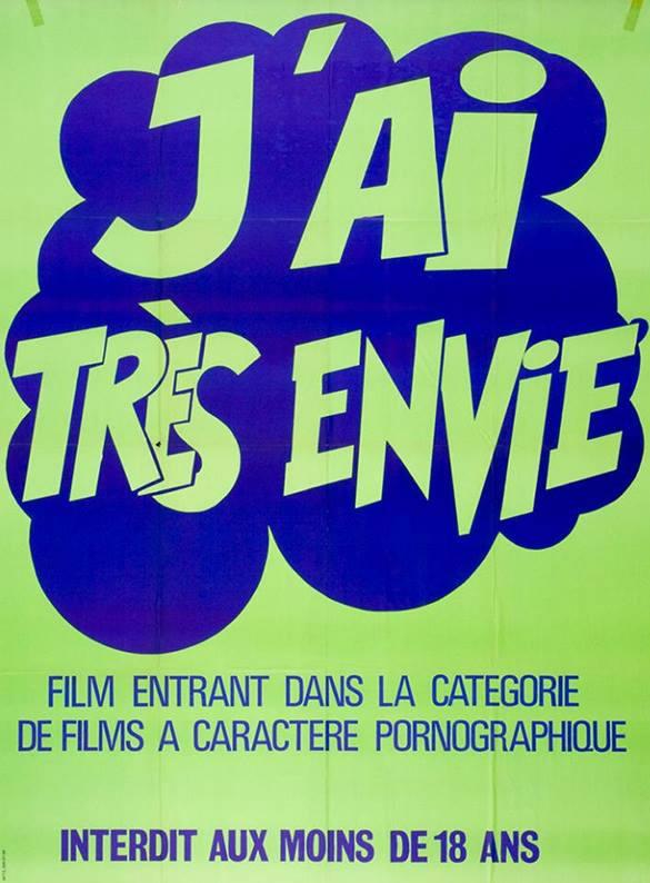 [NSFW] Les affiches typographiques des films Porno des années 70 13