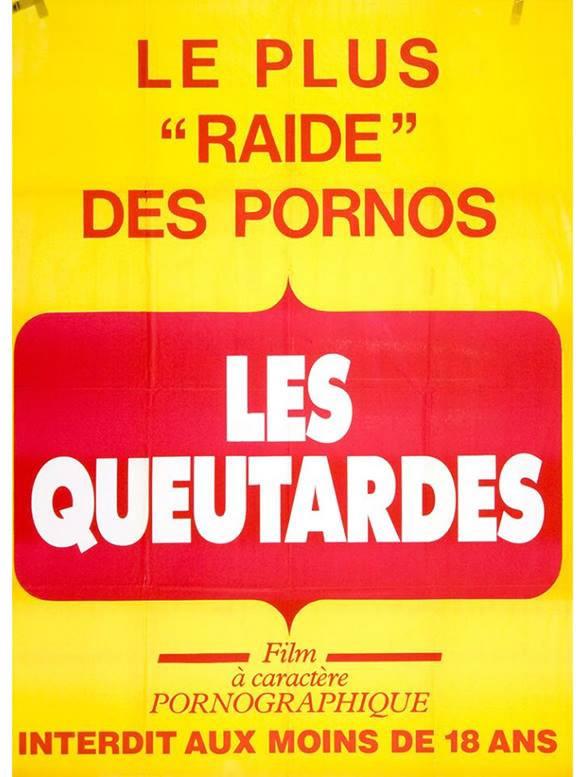 [NSFW] Les affiches typographiques des films Porno des années 70 14