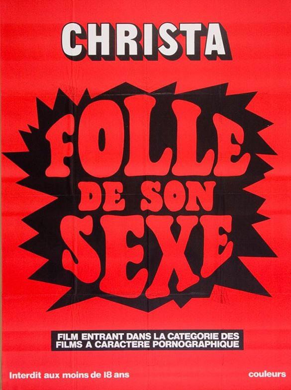 [NSFW] Les affiches typographiques des films Porno des années 70 15
