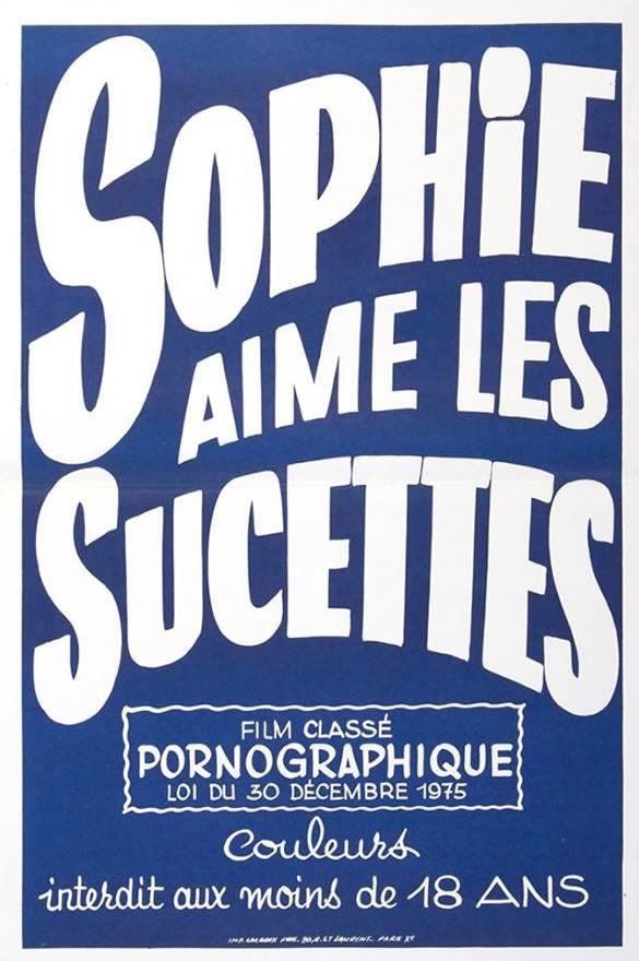 [NSFW] Les affiches typographiques des films Porno des années 70 19