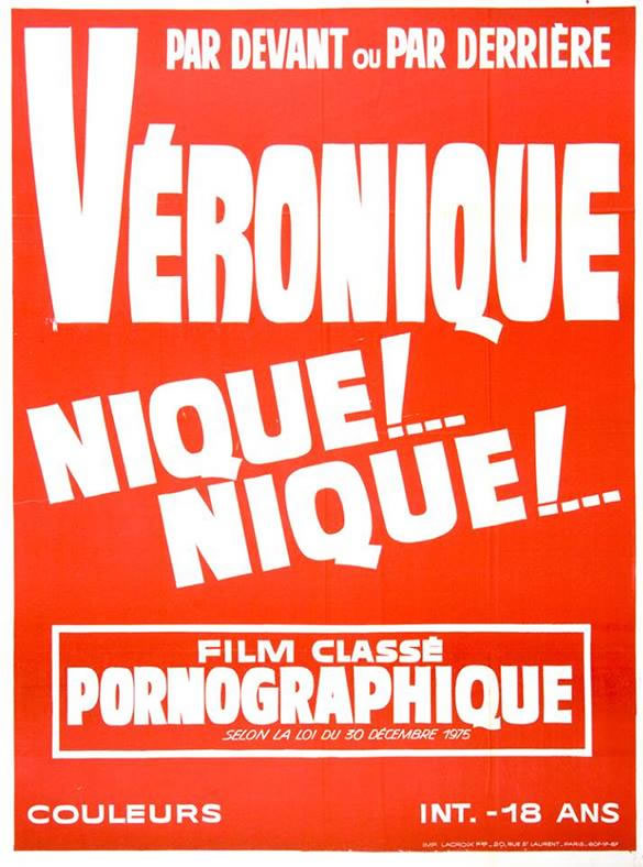 [NSFW] Les affiches typographiques des films Porno des années 70 20