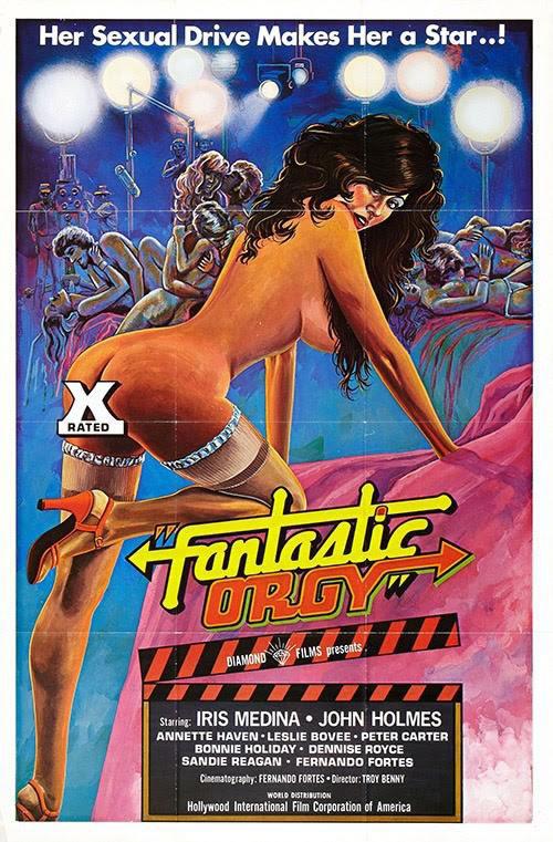 [NSFW] Les affiches typographiques des films Porno des années 70 6