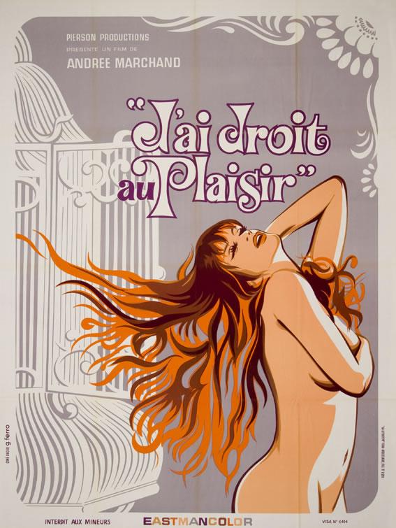 [NSFW] Les affiches typographiques des films Porno des années 70 7