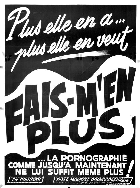 [NSFW] Les affiches typographiques des films Porno des années 70 9