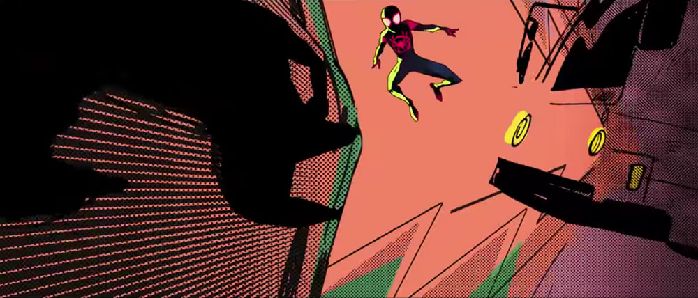 WOW ! Le trailer d'animation Spider Man Into the Spider-verse au style Rétro-Comic 2