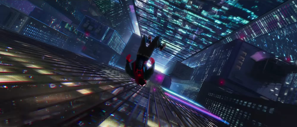 WOW ! Le trailer d'animation Spider Man Into the Spider-verse au style Rétro-Comic 3