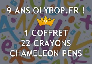 [Concours 9 ans Olybop] Gagnez un Coffret de 22 crayons Chameleon Pens [Terminé] 12