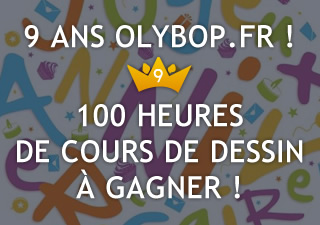 [Concours 9 ans Olybop] Gagnez 100 heures de formation pour apprendre à dessiner [Terminé] 11