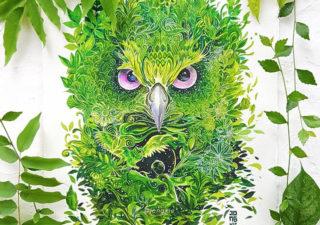 [Aquarelles] Les illustrations d'animaux magnifiquement colorées de Jongkie 1