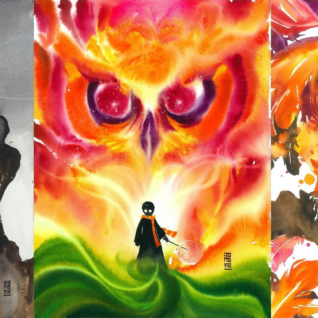 [Aquarelles] Les illustrations d'animaux magnifiquement colorées de Jongkie 16