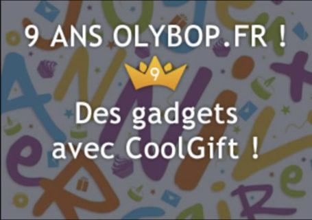 [Concours 9 ans Olybop] Gagnez Porteclé bluetooth, lampe Origami, cryptex etc ! [Terminé] 9