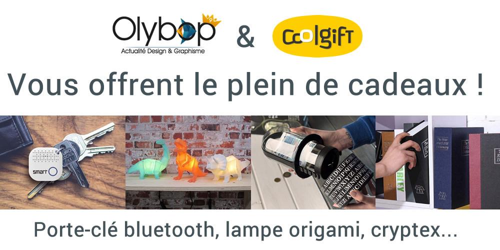 [Concours 9 ans Olybop] Gagnez Porteclé bluetooth, lampe Origami, cryptex etc ! [Terminé] 2