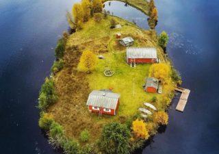 Kotisaari Island - Petite île finlandaise vue des 4 saisons par Jani Ylinampa 1