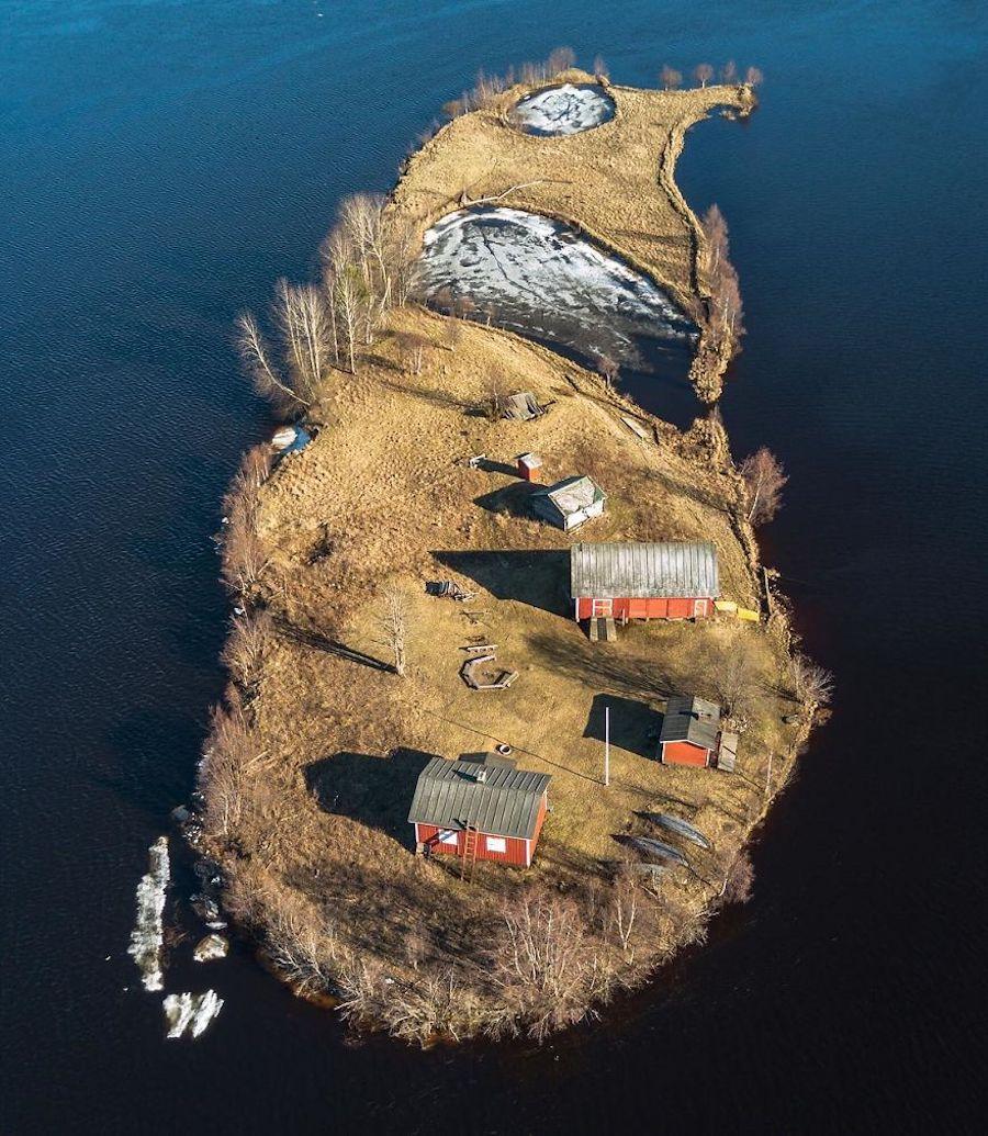 Kotisaari Island - Petite île finlandaise vue des 4 saisons par Jani Ylinampa 3