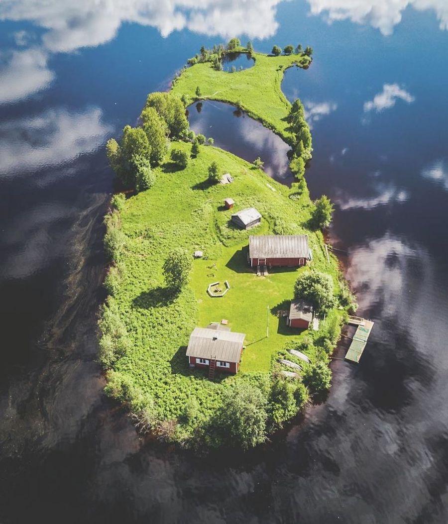 Kotisaari Island - Petite île finlandaise vue des 4 saisons par Jani Ylinampa 4