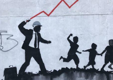 [Street Art] Nouvelle Oeuvre satirique de Banksy 2018 5