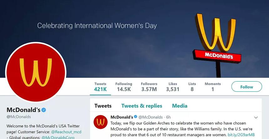 9 logos de marque changent d'homme en femme pour l'égalité des droits 2