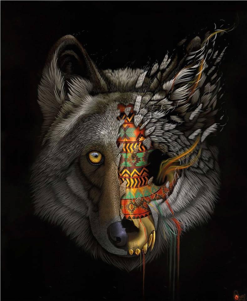 [Peinture et Streetart] Wow, LA claque du jour avec Sonny et ses animaux d'une puissance... 4