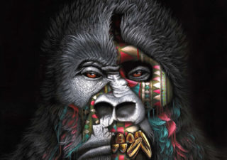 [Peinture et Streetart] Wow, LA claque du jour avec Sonny et ses animaux d'une puissance... 1