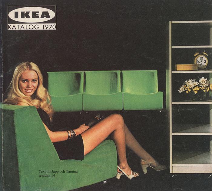 Historique des catalogues IKEA depuis 1955 12