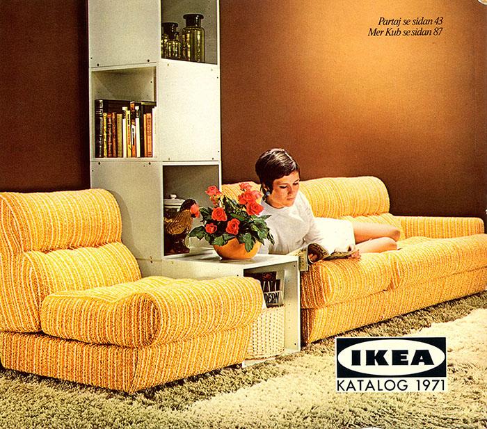 Historique des catalogues IKEA depuis 1955 13