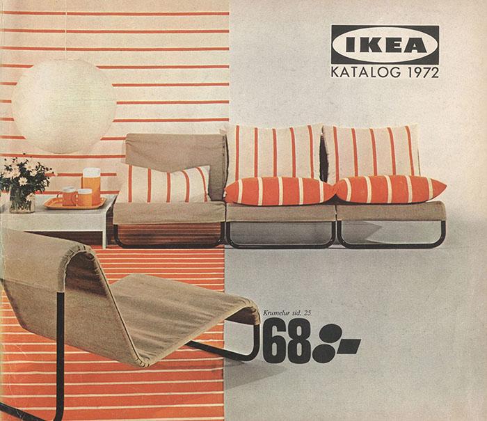Historique des catalogues IKEA depuis 1955 14