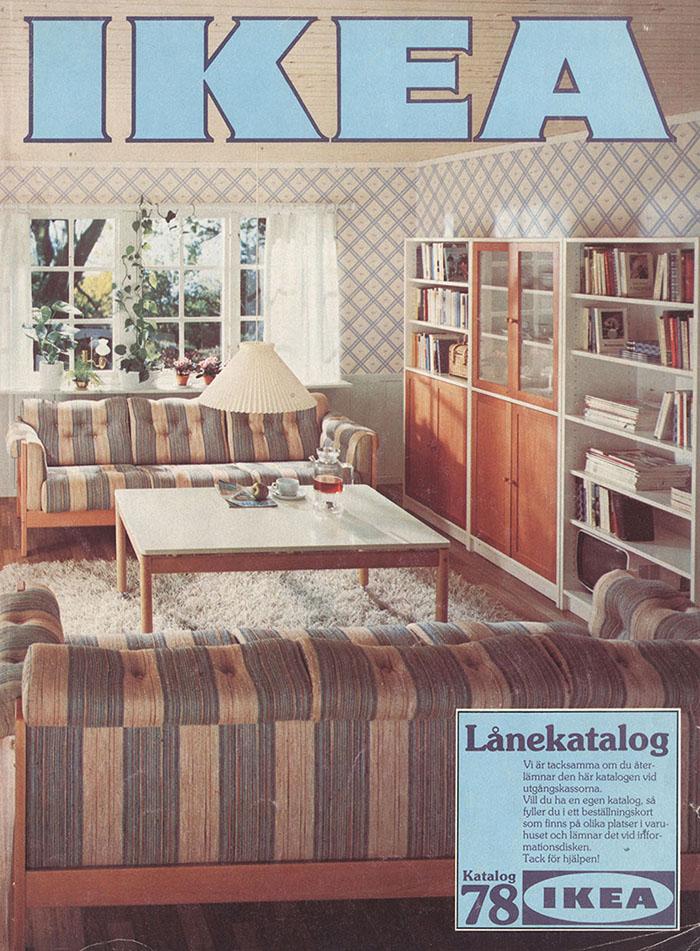 Historique des catalogues IKEA depuis 1955 18