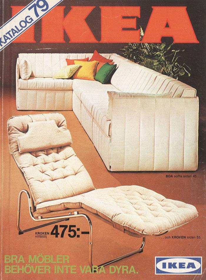 Historique des catalogues IKEA depuis 1955 19
