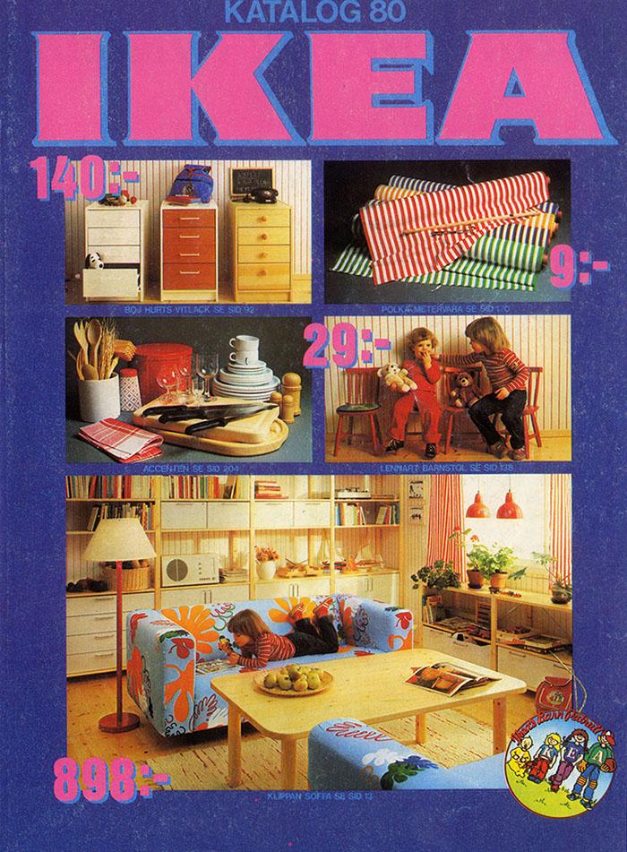 Historique des catalogues IKEA depuis 1955 20