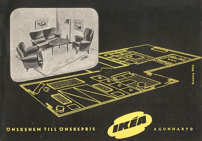 Historique des catalogues IKEA depuis 1955 3