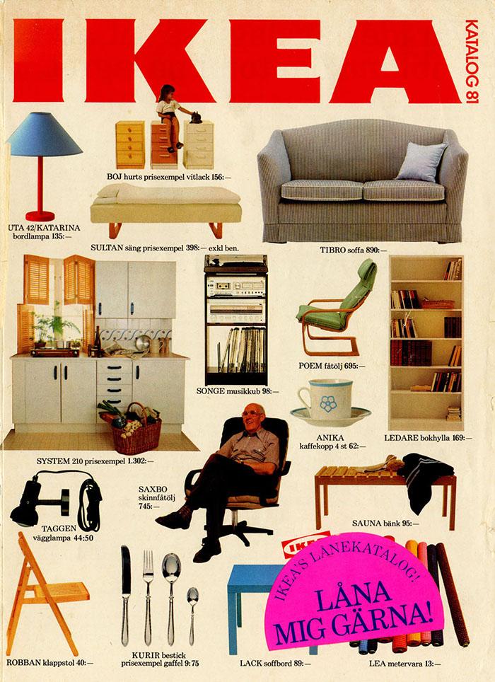 Historique des catalogues IKEA depuis 1955 21