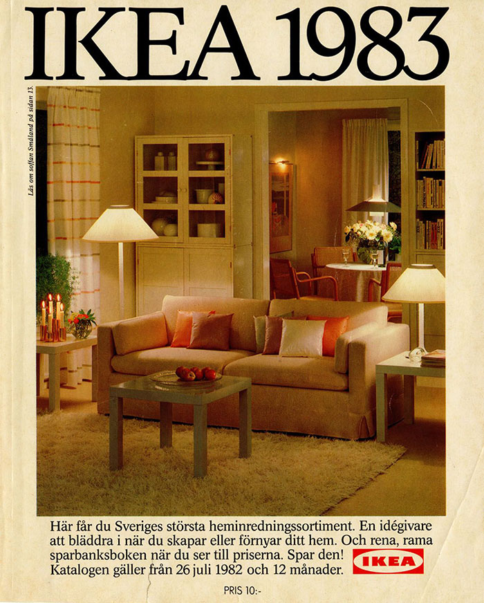 Historique des catalogues IKEA depuis 1955 22