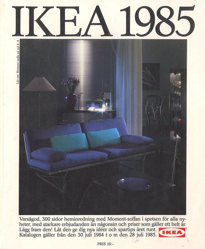 Historique des catalogues IKEA depuis 1955 23