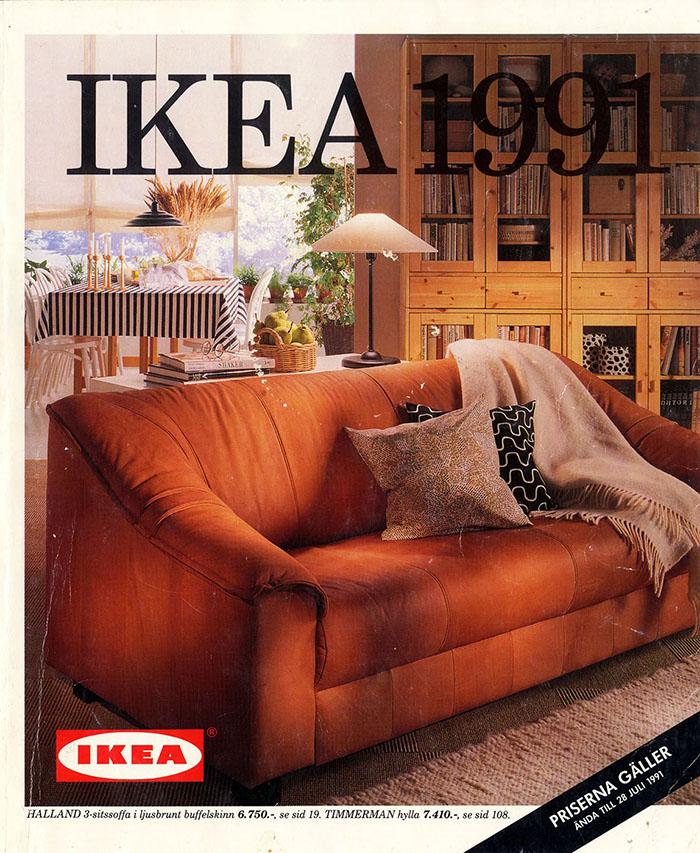 Historique des catalogues IKEA depuis 1955 28